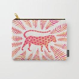Jaguar – Pink Ombré Palette Carry-All Pouch