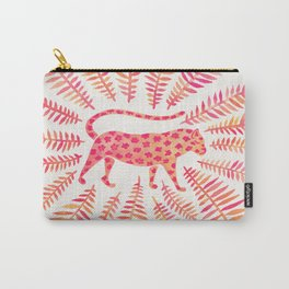 Jaguar – Pink Ombré Palette Carry-All Pouch