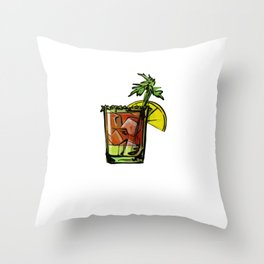 Bloody Mary Making Mornings Better Since 1921 Throw Pillow