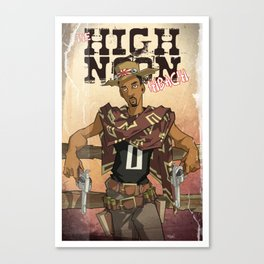 High Noon Hibachi Canvas Print