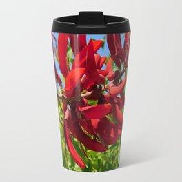 Red blooms Travel Mug