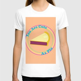 "Retro ""You Are Cute As Pie"" T-shirt"