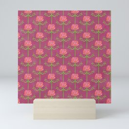 Spring Roses Pattern ~ LOVED UP VAR Mini Art Print