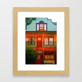 Portland Forms Framed Art Print