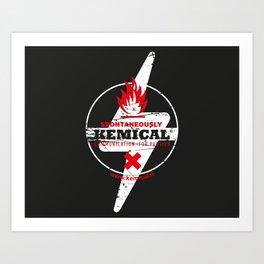 Spontaneously Kemical Art Print