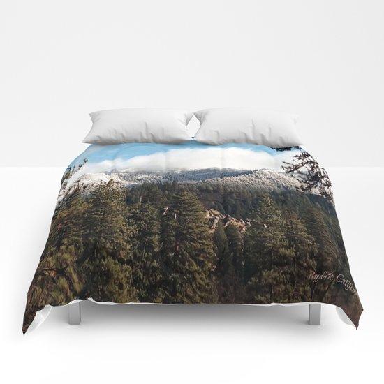 Yolla Bollies in the winter Comforters