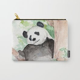 Panda, Hanging Out Carry-All Pouch