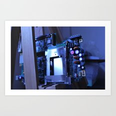 Resting Computer Art Print