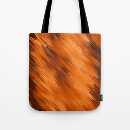 brown orange and dark brown painting texture abstract background Tote Bag