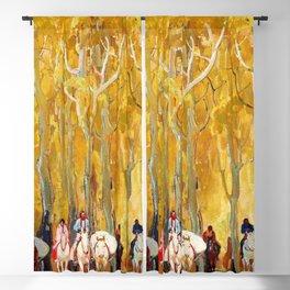 12,000pixel-500dpi - Glorietta - William Herbert Dunton Blackout Curtain