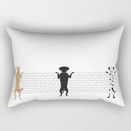 Good Buddies Rectangular Pillow
