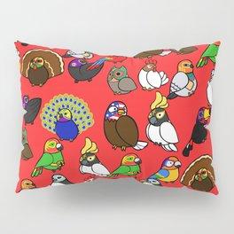 Lucha Birds Pillow Sham