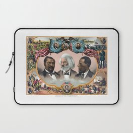 Heroes Of The Colored Race Laptop Sleeve