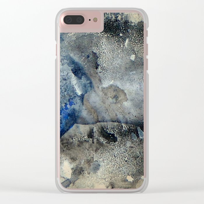 Dry Areas Clear iPhone Case