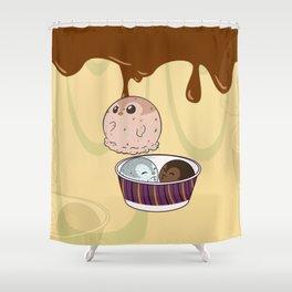 Penguinscoops - Hide and Seek Shower Curtain