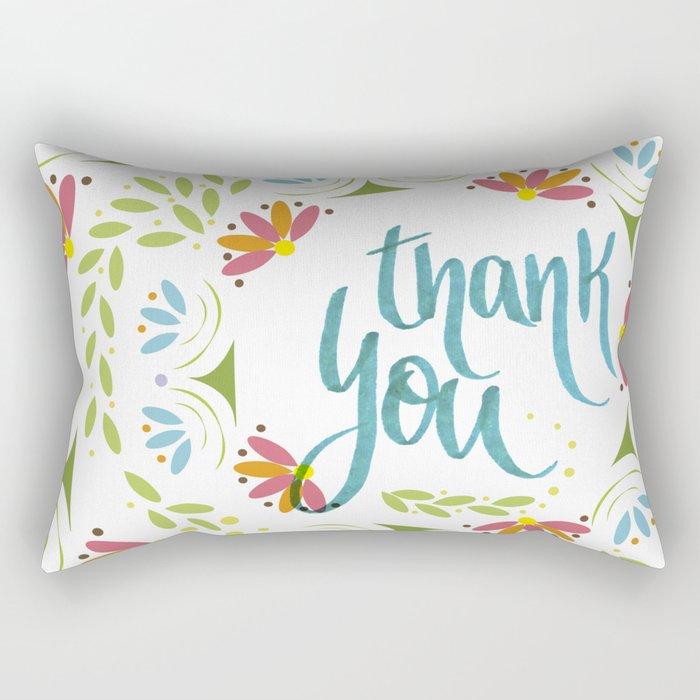 Thank you! Rectangular Pillow