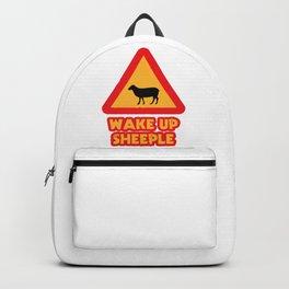 WAKE UP SHEEPLE Backpack