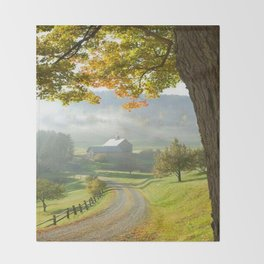 COUNTRY ROAD1 Throw Blanket