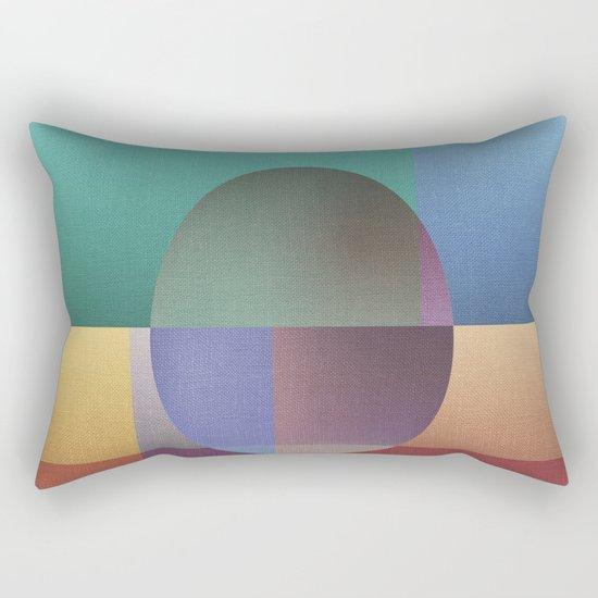 NO WAY OUT (abstract) Rectangular Pillow