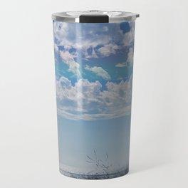 Turquoise Sky Travel Mug
