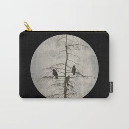 Full Moon and Crows Carry-All Pouch