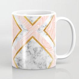 Gold and marble Coffee Mug