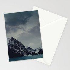 Lake Louise Winter Landscape Stationery Cards