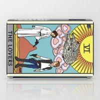 tarot iPad Cases featuring The Lovers - Tarot Card by kamonkey