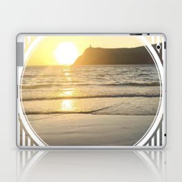 Port Erin - circle/line Laptop & iPad Skin