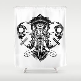 Ele-phant Shower Curtain