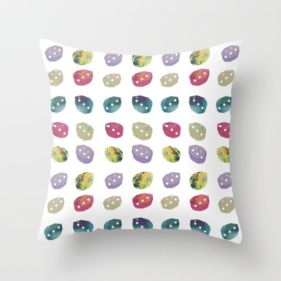 bonbonbon Throw Pillow