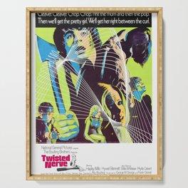Vintage Film Poster- Twisted Nerve (1968) Serving Tray