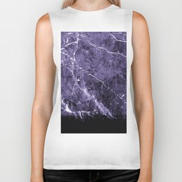 Ultra Violet Marble #1 #decor #art #society6 Biker Tank