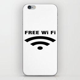 Free Wifi iPhone Skin