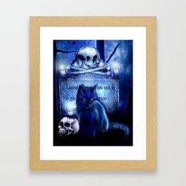 Salems Guardian Framed Art Print
