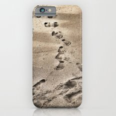 Footprints in the Sand Slim Case iPhone 6s