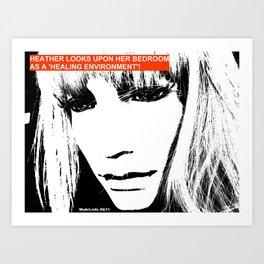 CosmoGirls > Healing Environment! Art Print