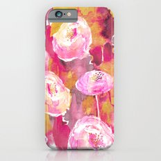 Painterly Flowers Slim Case iPhone 6s