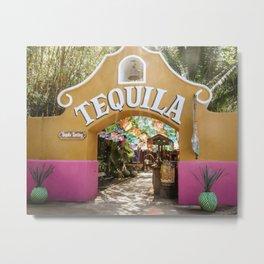 Tequila Tasting Metal Print