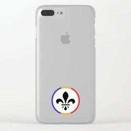 St. Louis fleur de lis Clear iPhone Case