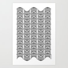 Brooklyn Williamsburgh Savings Bank Archidoodle by the Downtown Doodler Art Print