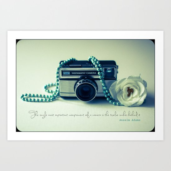 Instamatic Photography Art Print