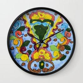 Talavera Three Wall Clock