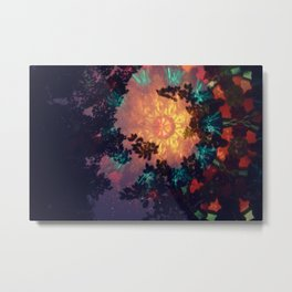 Psychedelic Starlight 1 Metal Print