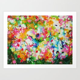 Full abstract Art Print