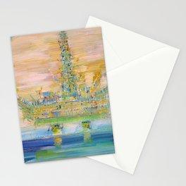 OIL PLATFORM Stationery Cards