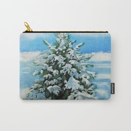 The Day After Snow Scene Art Carry-All Pouch