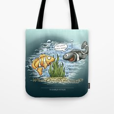 When Clownfishes meet Tote Bag