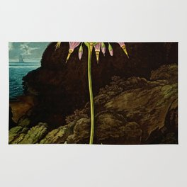 The American Cowslip Flower : New Illustration Of The Sexual System Rug