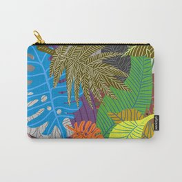 Rainbow Dancing Leaves Carry-All Pouch